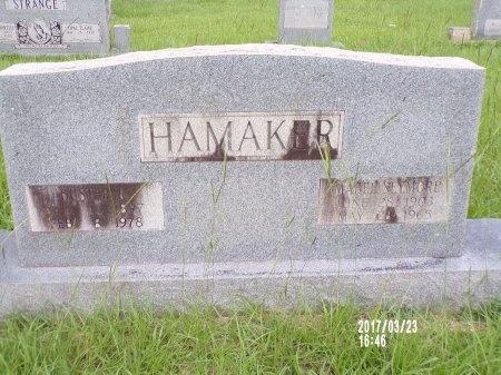 HAMAKER, MABEL - Bradley County, Arkansas   MABEL HAMAKER - Arkansas Gravestone Photos