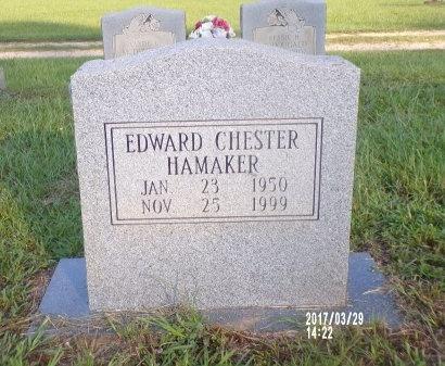 HAMAKER, EDWARD CHESTER - Bradley County, Arkansas   EDWARD CHESTER HAMAKER - Arkansas Gravestone Photos