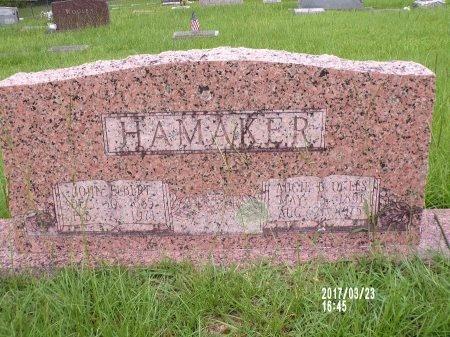 HAMAKER, AUGIE B - Bradley County, Arkansas | AUGIE B HAMAKER - Arkansas Gravestone Photos