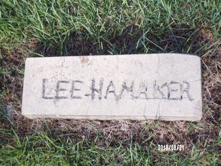 "HAMAKER, LEVI ""LEE"" - Bradley County, Arkansas 