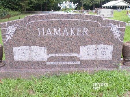 HAMAKER, MARVIN CLAUDE - Bradley County, Arkansas | MARVIN CLAUDE HAMAKER - Arkansas Gravestone Photos