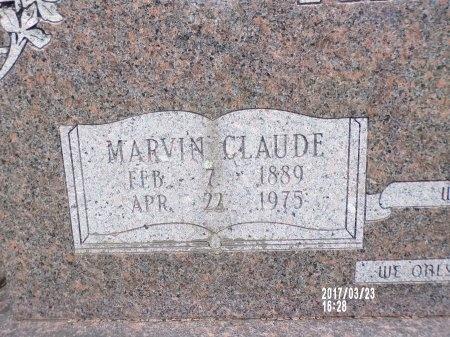 HAMAKER, MARVIN CLAUDE (CLOSE UP) - Bradley County, Arkansas   MARVIN CLAUDE (CLOSE UP) HAMAKER - Arkansas Gravestone Photos