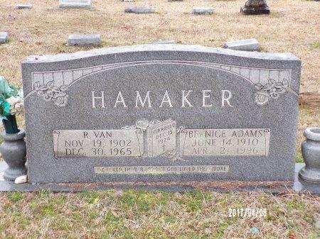 HAMAKER, BERNICE - Bradley County, Arkansas   BERNICE HAMAKER - Arkansas Gravestone Photos