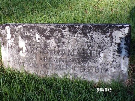 HAMAKER (VETERAN WWI), HARGIS - Bradley County, Arkansas | HARGIS HAMAKER (VETERAN WWI) - Arkansas Gravestone Photos