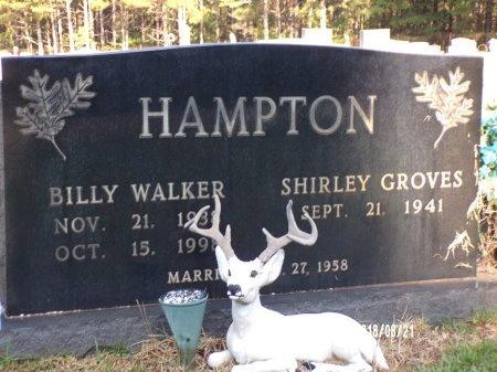 HAMPTON, BILLY WALKER - Bradley County, Arkansas | BILLY WALKER HAMPTON - Arkansas Gravestone Photos