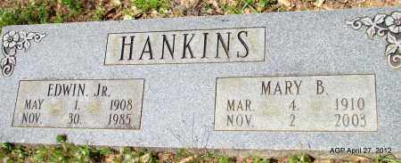 HANKINS, JR, EDWIN - Bradley County, Arkansas | EDWIN HANKINS, JR - Arkansas Gravestone Photos