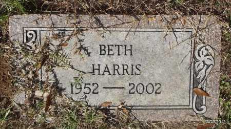 HARRIS, BETH - Bradley County, Arkansas   BETH HARRIS - Arkansas Gravestone Photos