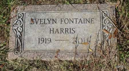HARRIS, EVELYN - Bradley County, Arkansas | EVELYN HARRIS - Arkansas Gravestone Photos