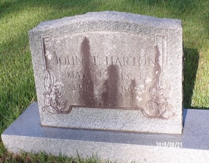 HARTON, JOHN T - Bradley County, Arkansas | JOHN T HARTON - Arkansas Gravestone Photos