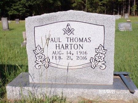 HARTON, PAUL THOMAS - Bradley County, Arkansas | PAUL THOMAS HARTON - Arkansas Gravestone Photos