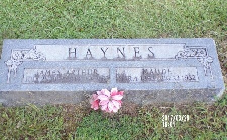 HAYNES, MAUDE - Bradley County, Arkansas | MAUDE HAYNES - Arkansas Gravestone Photos