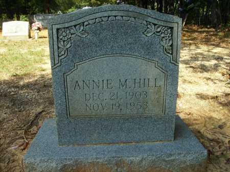 HILL, ANNIE M - Bradley County, Arkansas | ANNIE M HILL - Arkansas Gravestone Photos