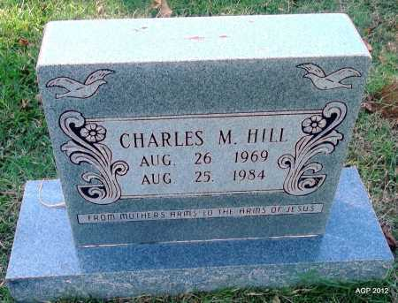 HILL, CHARLES M - Bradley County, Arkansas | CHARLES M HILL - Arkansas Gravestone Photos