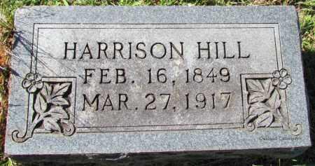 HILL, HARRISON - Bradley County, Arkansas   HARRISON HILL - Arkansas Gravestone Photos