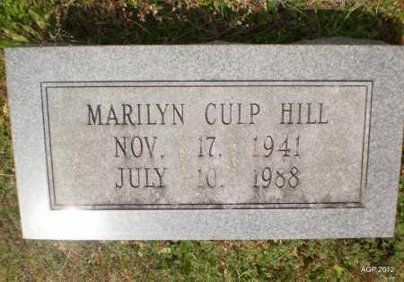 HILL, MARILYN - Bradley County, Arkansas | MARILYN HILL - Arkansas Gravestone Photos