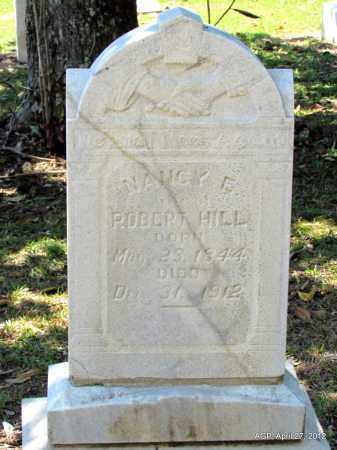 HILL, NANCY EMILY - Bradley County, Arkansas | NANCY EMILY HILL - Arkansas Gravestone Photos