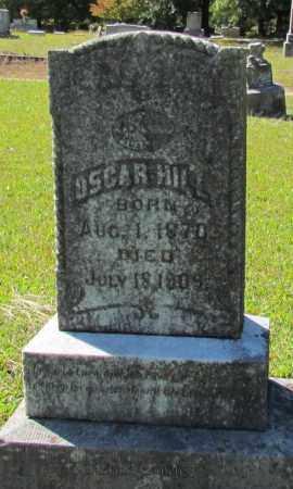 HILL, OSCAR - Bradley County, Arkansas | OSCAR HILL - Arkansas Gravestone Photos