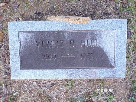 HILL, VIRGIE H - Bradley County, Arkansas | VIRGIE H HILL - Arkansas Gravestone Photos