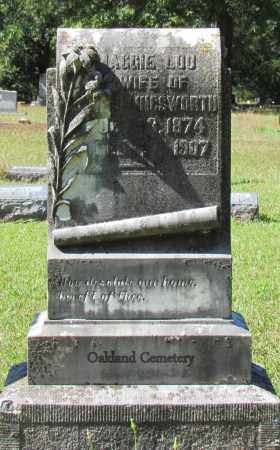 HOLLINGSWORTH, MAGGIE LOU - Bradley County, Arkansas | MAGGIE LOU HOLLINGSWORTH - Arkansas Gravestone Photos
