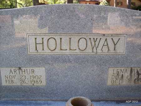 HOLLOWAY, ARTHUR - Bradley County, Arkansas | ARTHUR HOLLOWAY - Arkansas Gravestone Photos