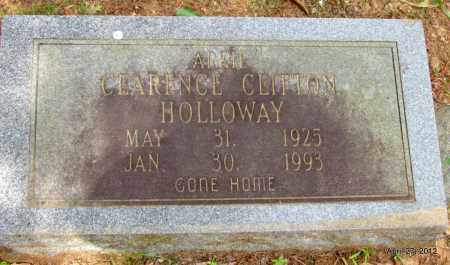 "HOLLOWAY, CLARENCE CLIFTON ""ARKIE"" - Bradley County, Arkansas 