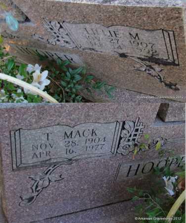 HOOPER, T MACK - Bradley County, Arkansas | T MACK HOOPER - Arkansas Gravestone Photos