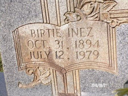 HOUSE, BIRTIE INEZ (CLOSE UP) - Bradley County, Arkansas   BIRTIE INEZ (CLOSE UP) HOUSE - Arkansas Gravestone Photos
