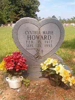 HOWARD, CYNTHIA MARIE - Bradley County, Arkansas | CYNTHIA MARIE HOWARD - Arkansas Gravestone Photos