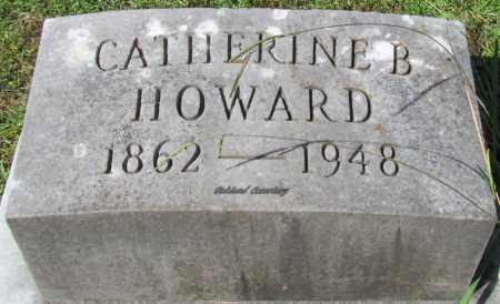 HOWARD, CATHERINE B - Bradley County, Arkansas | CATHERINE B HOWARD - Arkansas Gravestone Photos