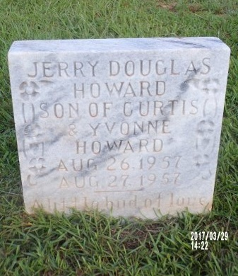 HOWARD, JERRY DOUGLAS - Bradley County, Arkansas | JERRY DOUGLAS HOWARD - Arkansas Gravestone Photos