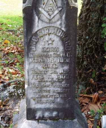 HOWARD, JOHN C R - Bradley County, Arkansas   JOHN C R HOWARD - Arkansas Gravestone Photos
