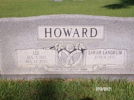 HOWARD, LEE - Bradley County, Arkansas   LEE HOWARD - Arkansas Gravestone Photos