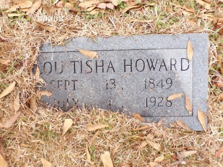 HOWARD, LOU TISHA - Bradley County, Arkansas | LOU TISHA HOWARD - Arkansas Gravestone Photos
