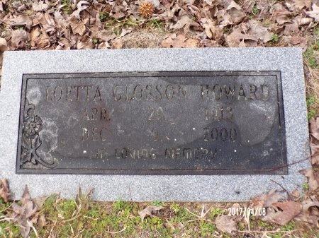 HOWARD, LOETTA - Bradley County, Arkansas | LOETTA HOWARD - Arkansas Gravestone Photos