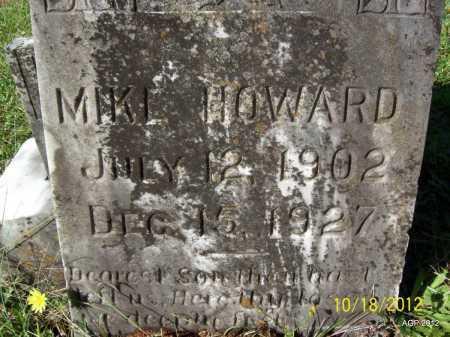 HOWARD, MIKE - Bradley County, Arkansas   MIKE HOWARD - Arkansas Gravestone Photos