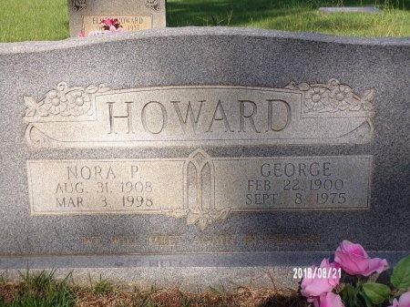 PRUITT HOWARD, NORA - Bradley County, Arkansas | NORA PRUITT HOWARD - Arkansas Gravestone Photos