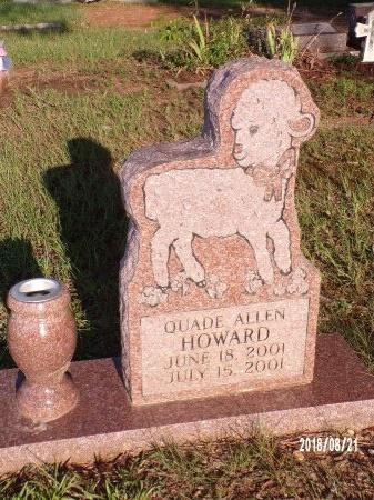 HOWARD, QUADE ALLEN - Bradley County, Arkansas | QUADE ALLEN HOWARD - Arkansas Gravestone Photos
