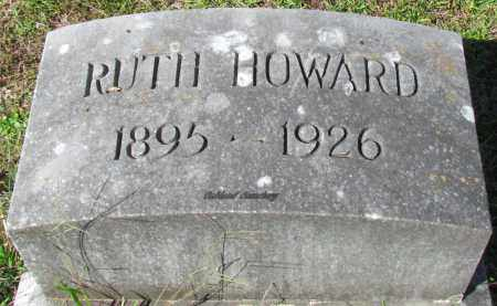 HOWARD, RUTH - Bradley County, Arkansas | RUTH HOWARD - Arkansas Gravestone Photos