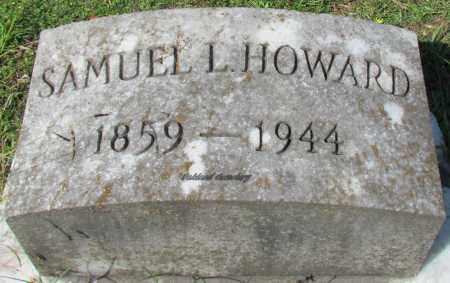 HOWARD, SAMUEL L - Bradley County, Arkansas   SAMUEL L HOWARD - Arkansas Gravestone Photos