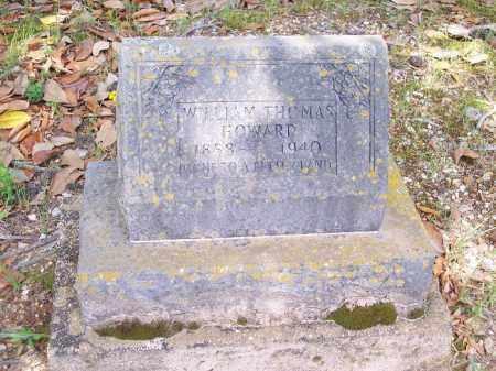 HOWARD, WILLIAM THOMAS - Bradley County, Arkansas | WILLIAM THOMAS HOWARD - Arkansas Gravestone Photos