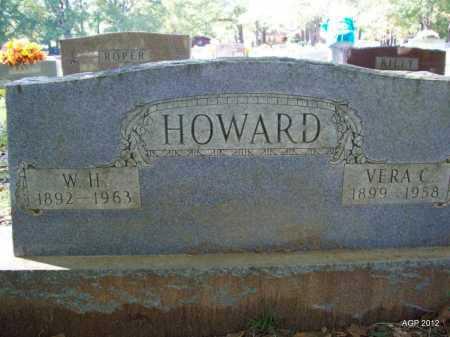 HOWARD, VERA C - Bradley County, Arkansas | VERA C HOWARD - Arkansas Gravestone Photos