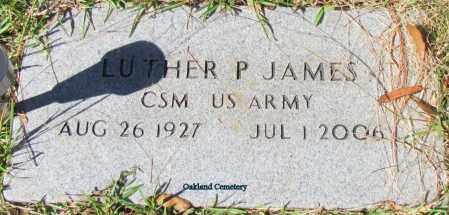 JAMES (VETERAN), LUTHER P - Bradley County, Arkansas   LUTHER P JAMES (VETERAN) - Arkansas Gravestone Photos