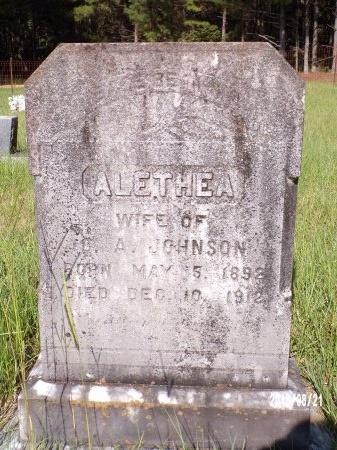 INGRAM JOHNSON, ALETHEA - Bradley County, Arkansas | ALETHEA INGRAM JOHNSON - Arkansas Gravestone Photos