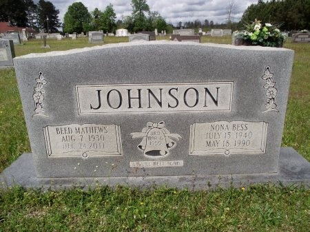 JOHNSON, BEED MATHEWS - Bradley County, Arkansas   BEED MATHEWS JOHNSON - Arkansas Gravestone Photos