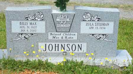 JOHNSON, BILLY MAX - Bradley County, Arkansas | BILLY MAX JOHNSON - Arkansas Gravestone Photos