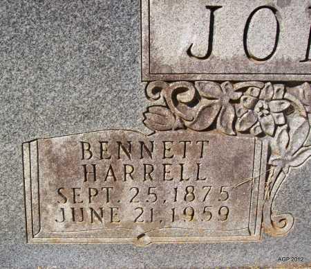 JOHNSON, BENNETT HARRELL - Bradley County, Arkansas | BENNETT HARRELL JOHNSON - Arkansas Gravestone Photos