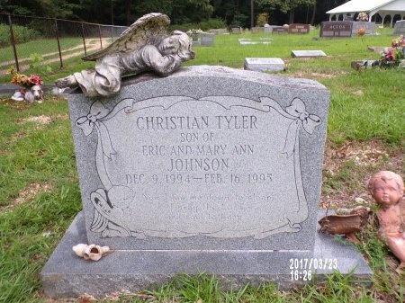 JOHNSON, CHRISTIAN TYLER - Bradley County, Arkansas   CHRISTIAN TYLER JOHNSON - Arkansas Gravestone Photos