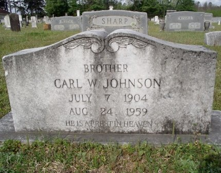 JOHNSON, CARL W - Bradley County, Arkansas | CARL W JOHNSON - Arkansas Gravestone Photos