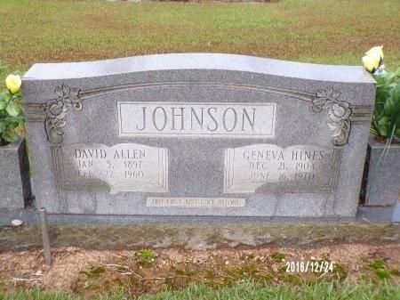 JOHNSON, GENEVA - Bradley County, Arkansas | GENEVA JOHNSON - Arkansas Gravestone Photos