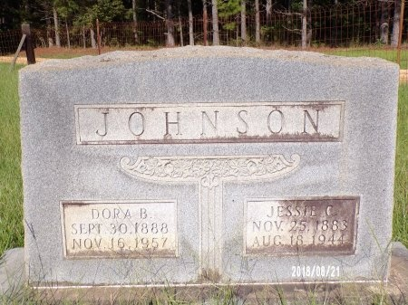 JOHNSON, JESSIE C - Bradley County, Arkansas | JESSIE C JOHNSON - Arkansas Gravestone Photos
